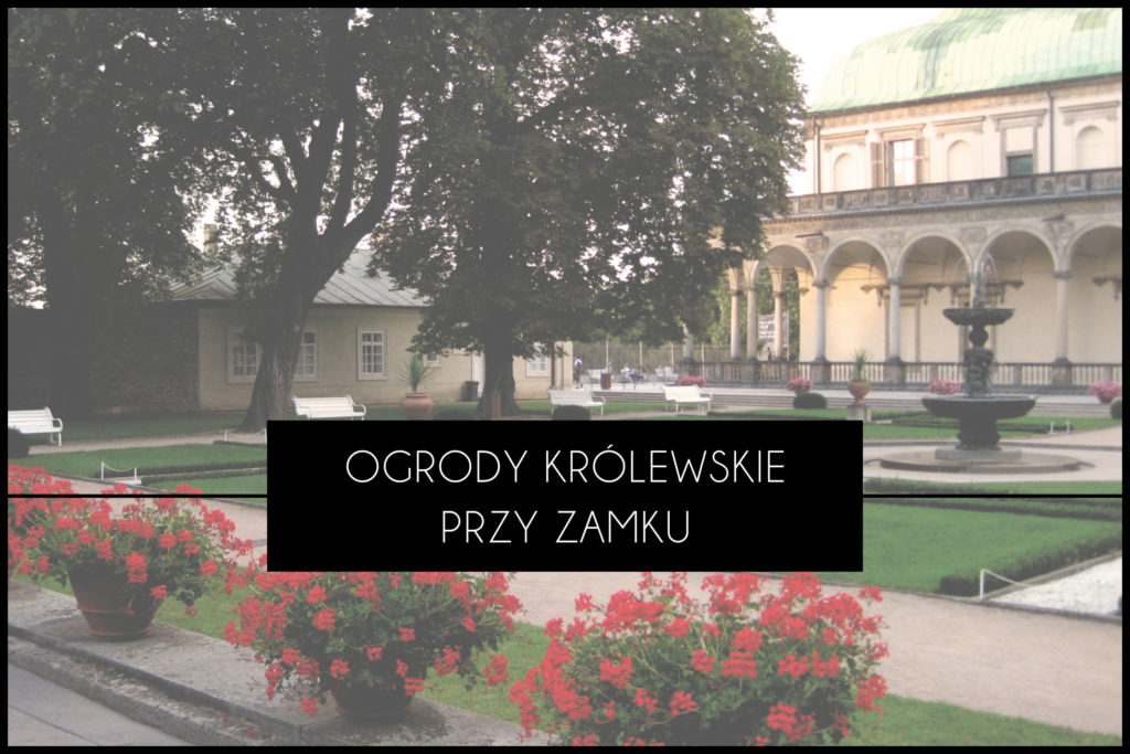 Praga ogrody królewskie