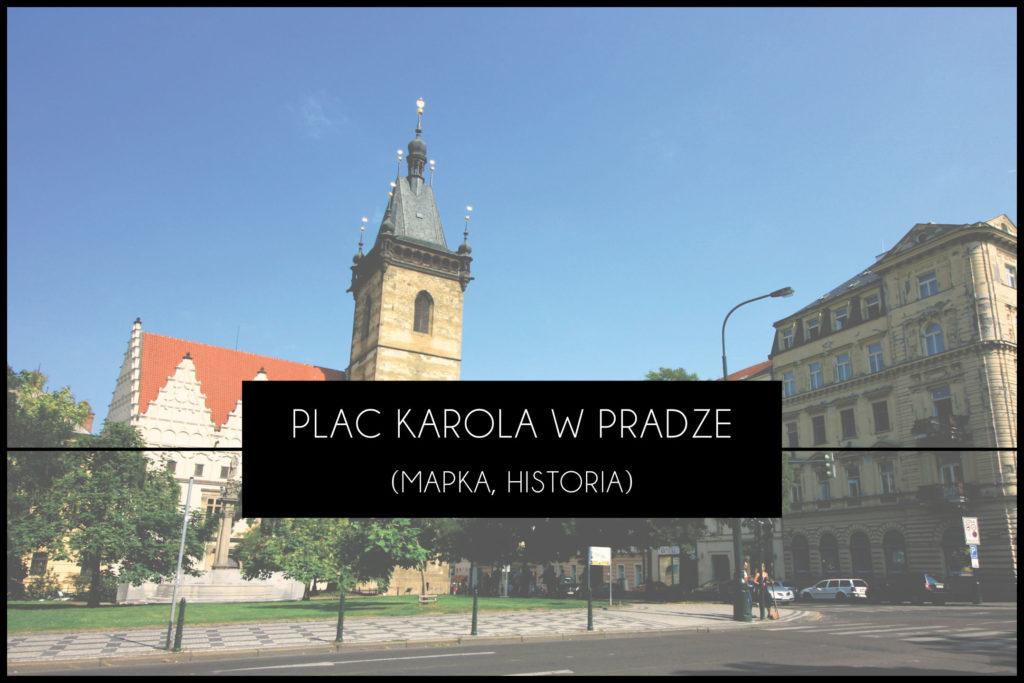 Praga Plac Karola
