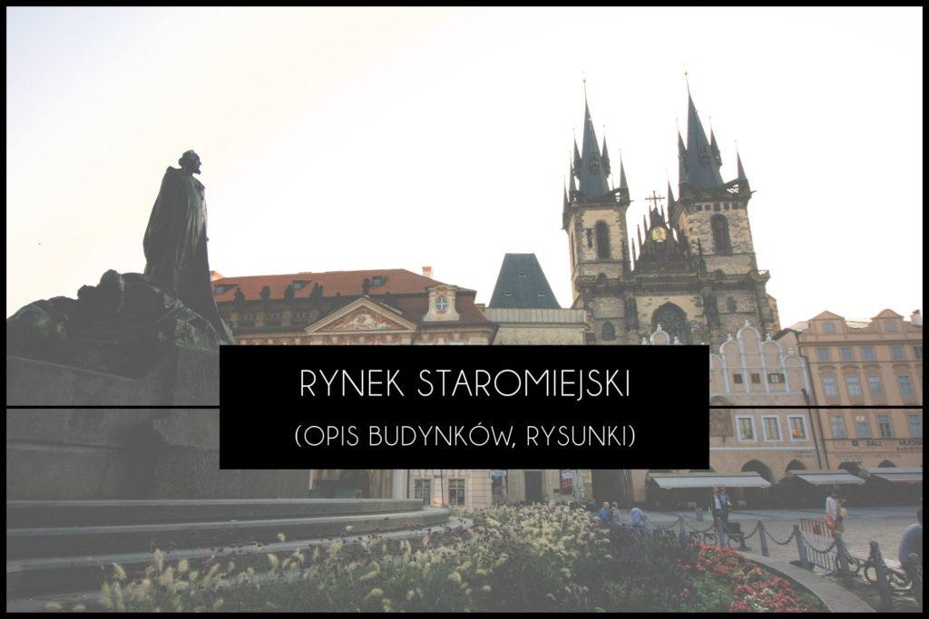Praga Rynek Staromiejski