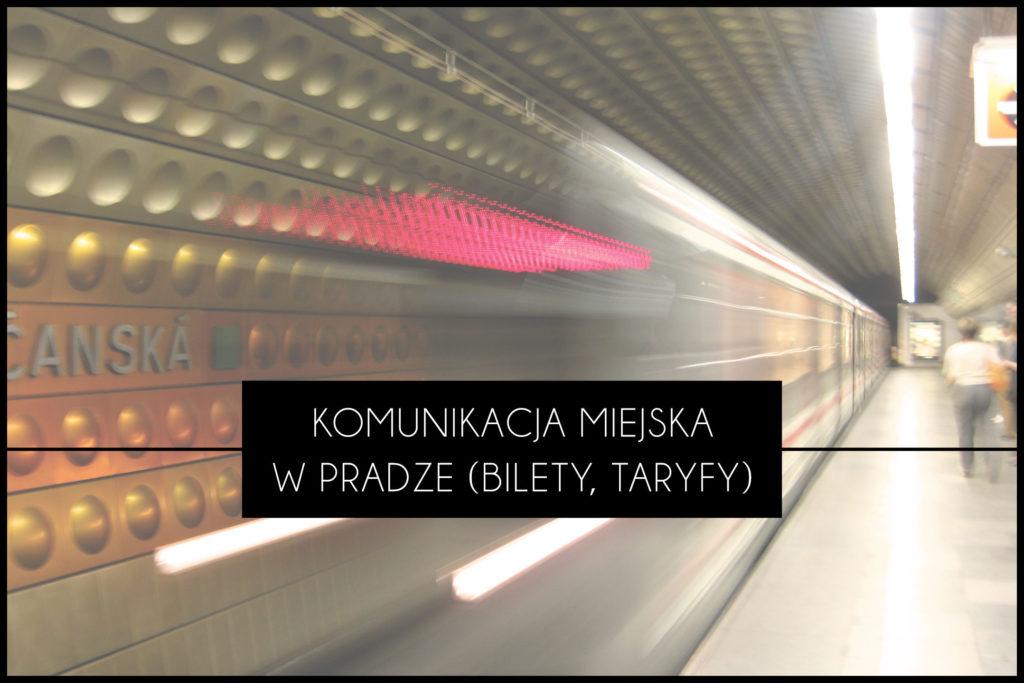 Praga komunikacja miejska