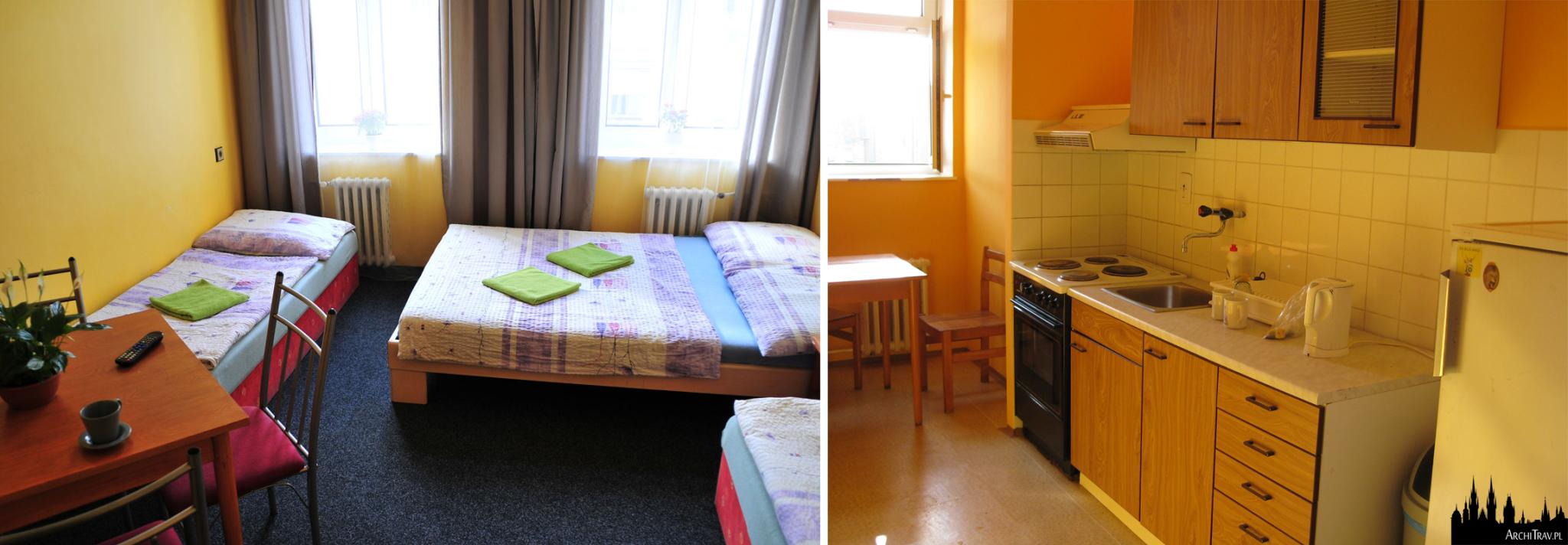 Praga, hostel Alia ***