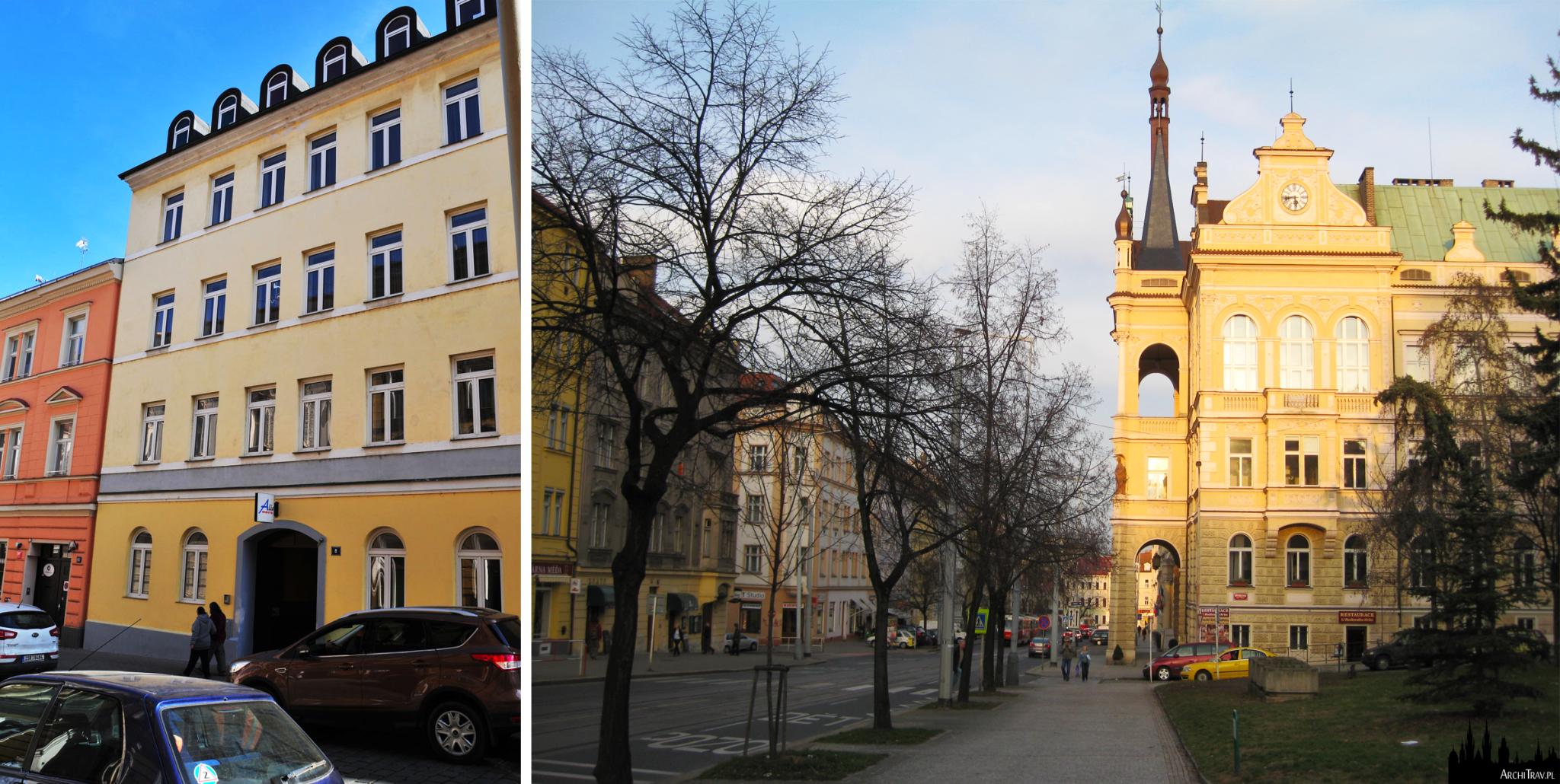 Praga, hostel Alia