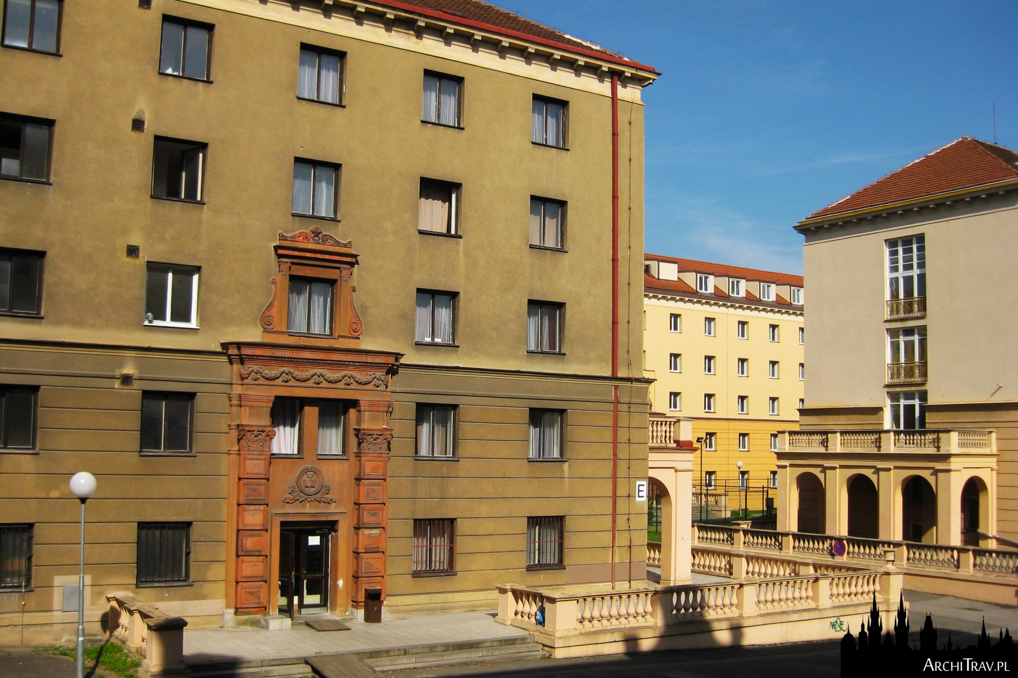 Praga, akademik Podoli