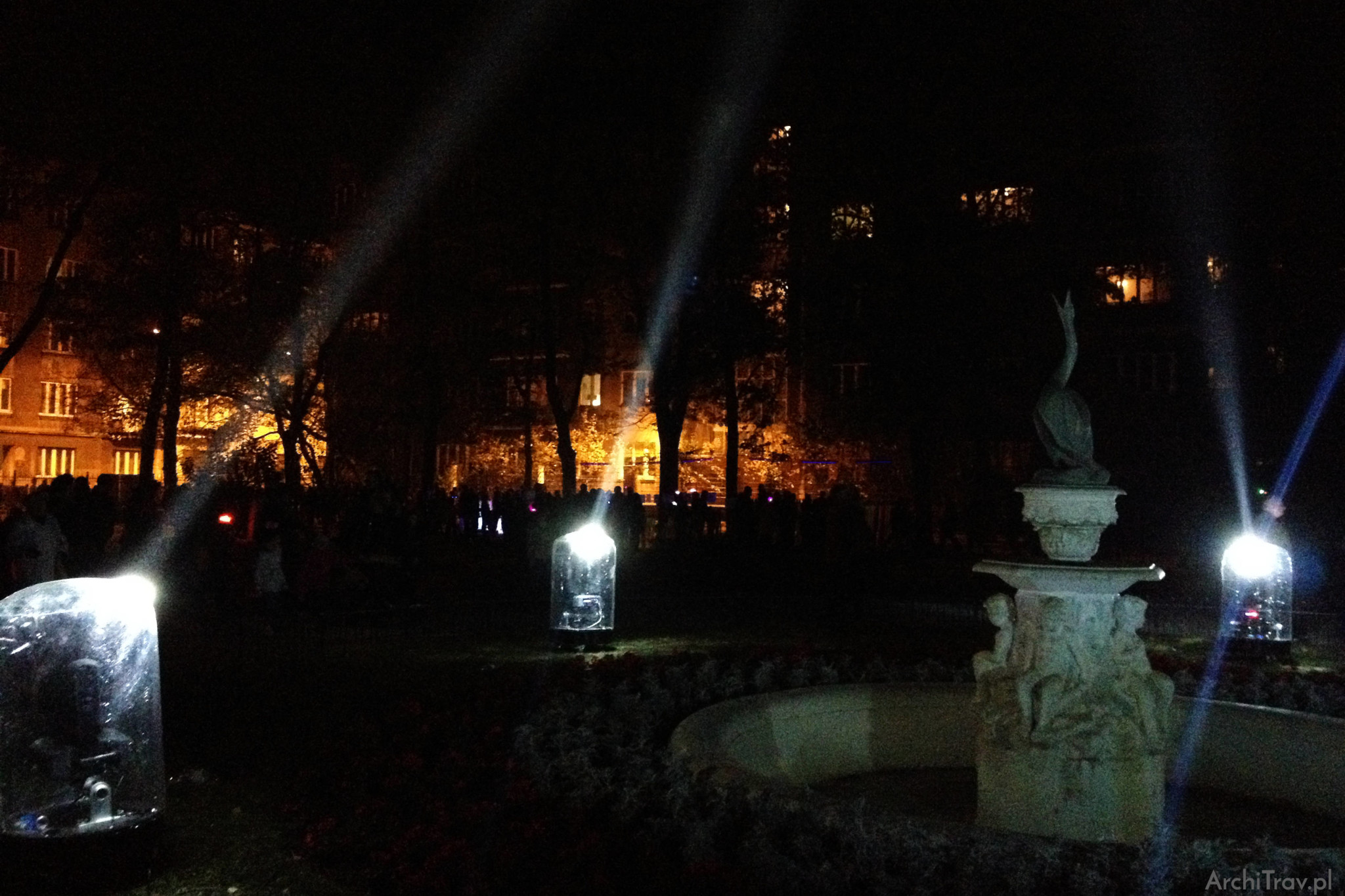 light move festival 2015 Park Sienkiewicza