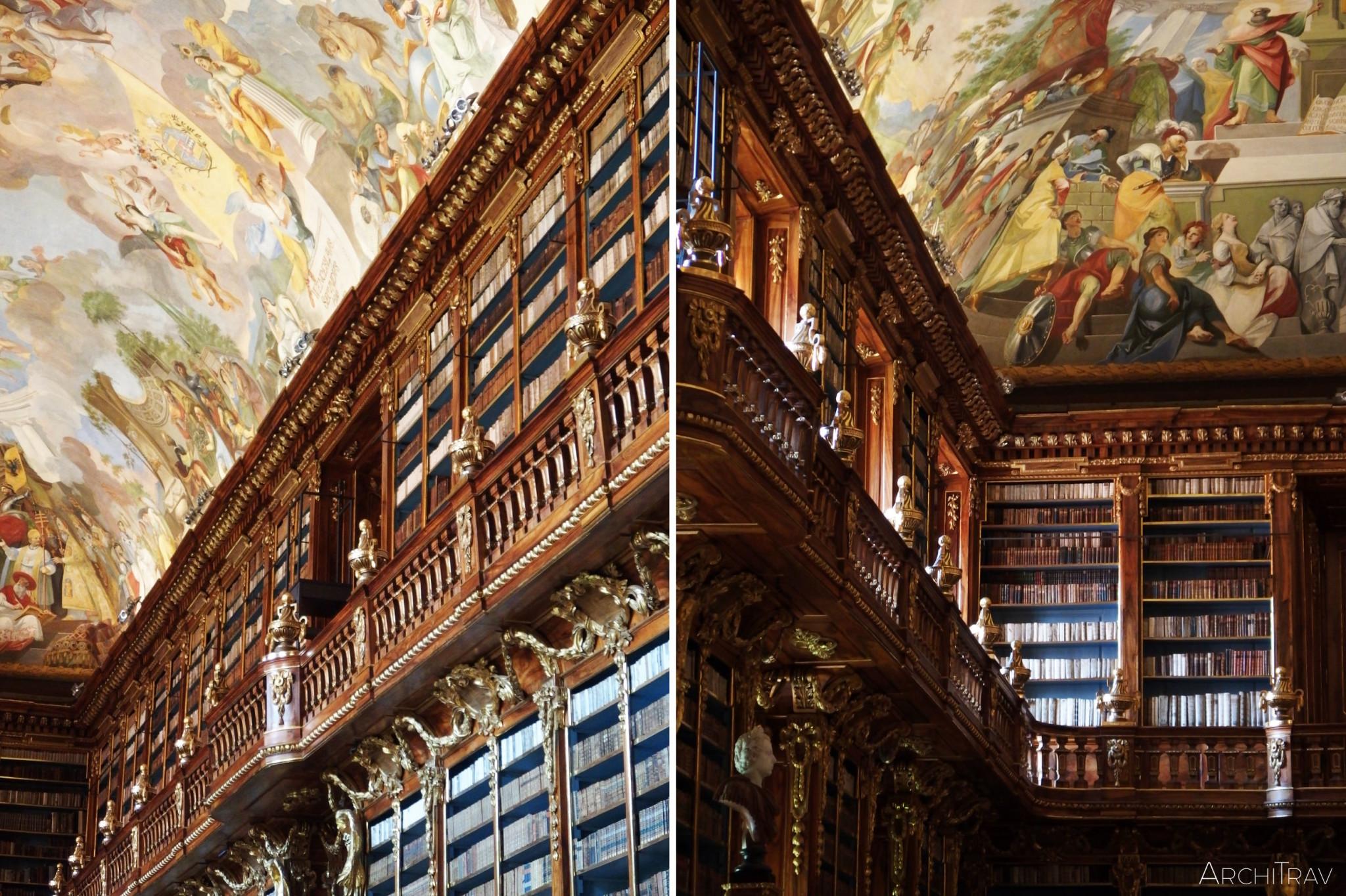 Biblioteka na Strahovie - sala filozoficzna 3
