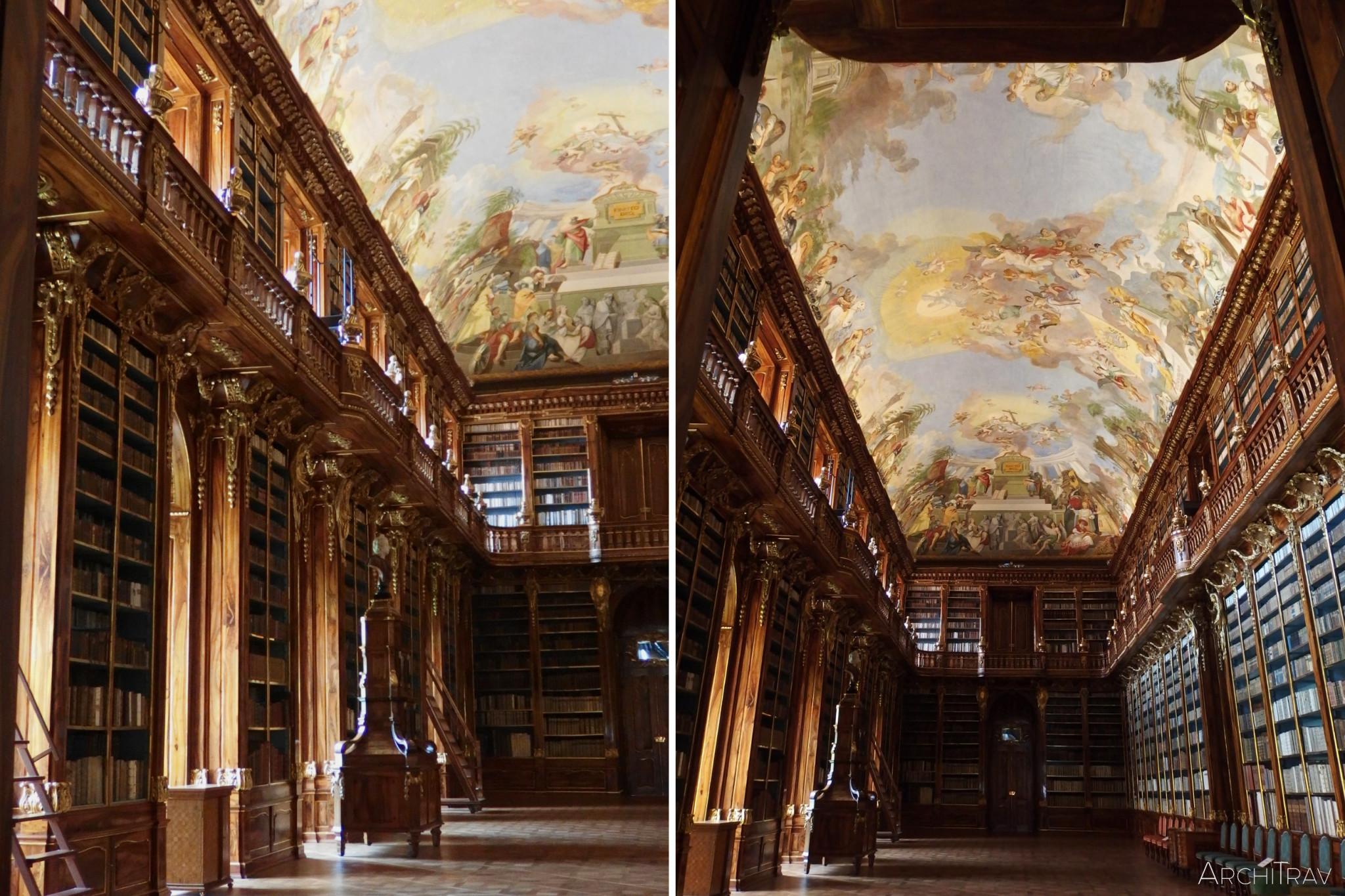 Biblioteka na Strahovie - sala filozoficzna 4