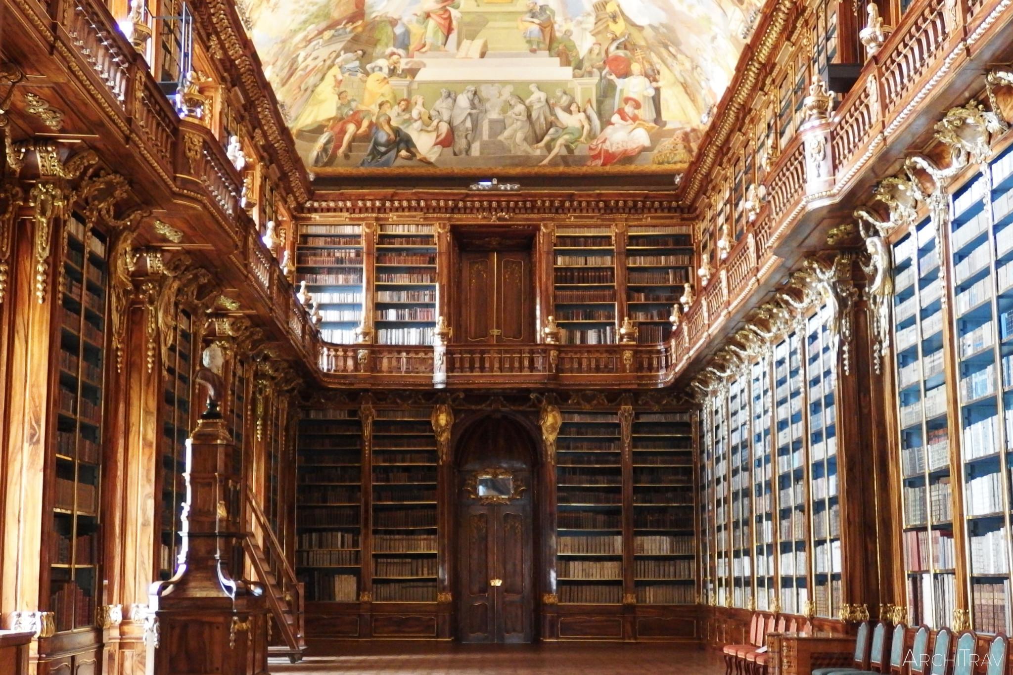 Biblioteka na Strahovie - sala filozoficzna