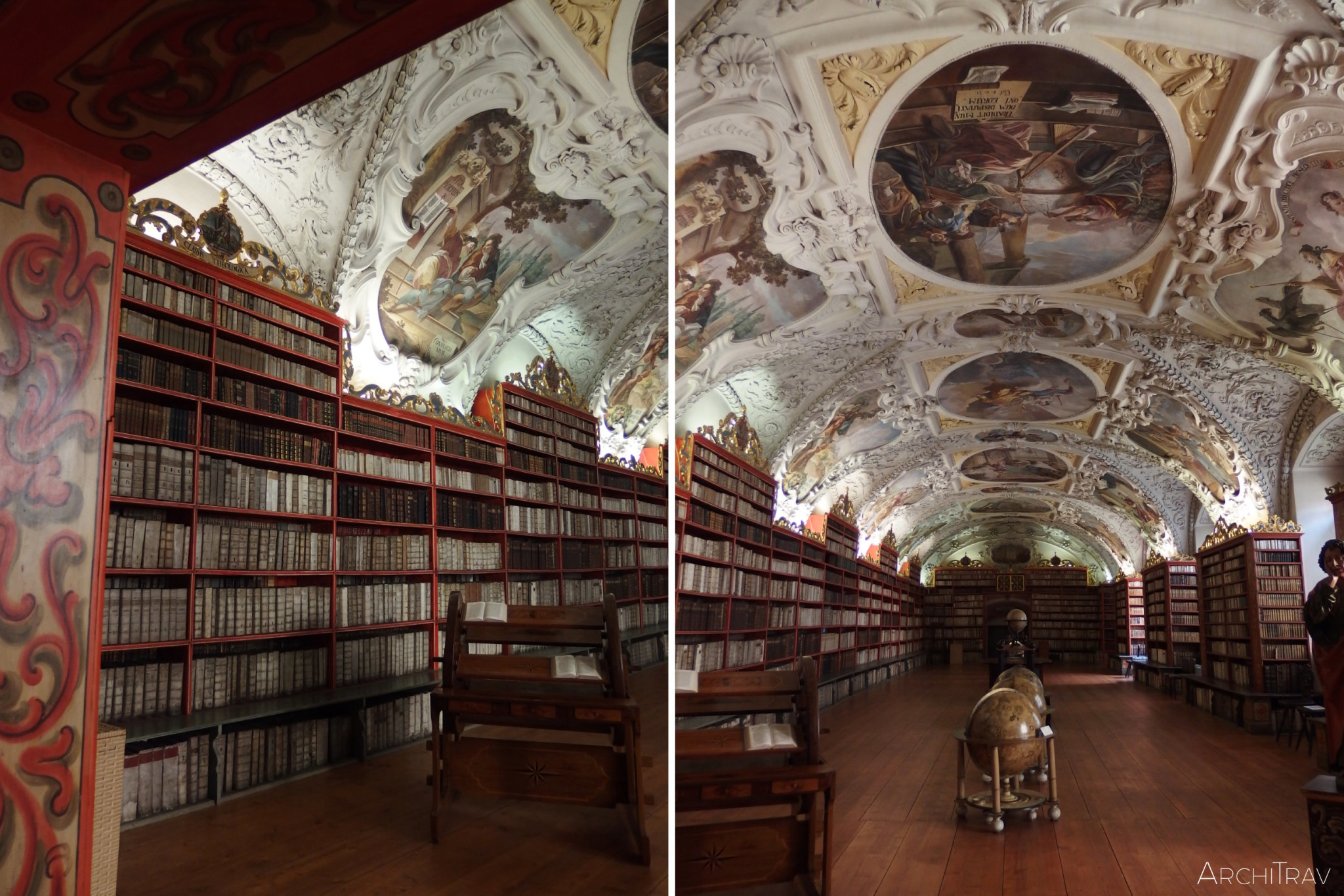 Biblioteka na Strahovie - sala teologiczna 2