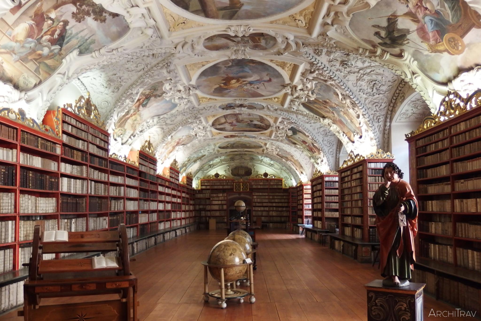 Biblioteka na Strahovie - sala teologiczna