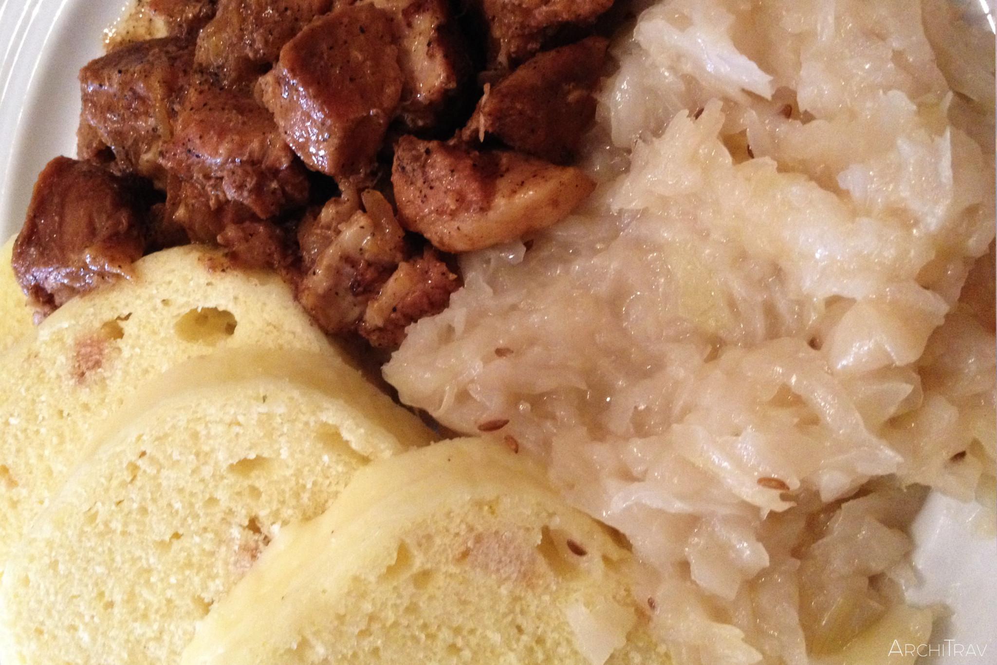 jedzenie w Czechach knedliki 2