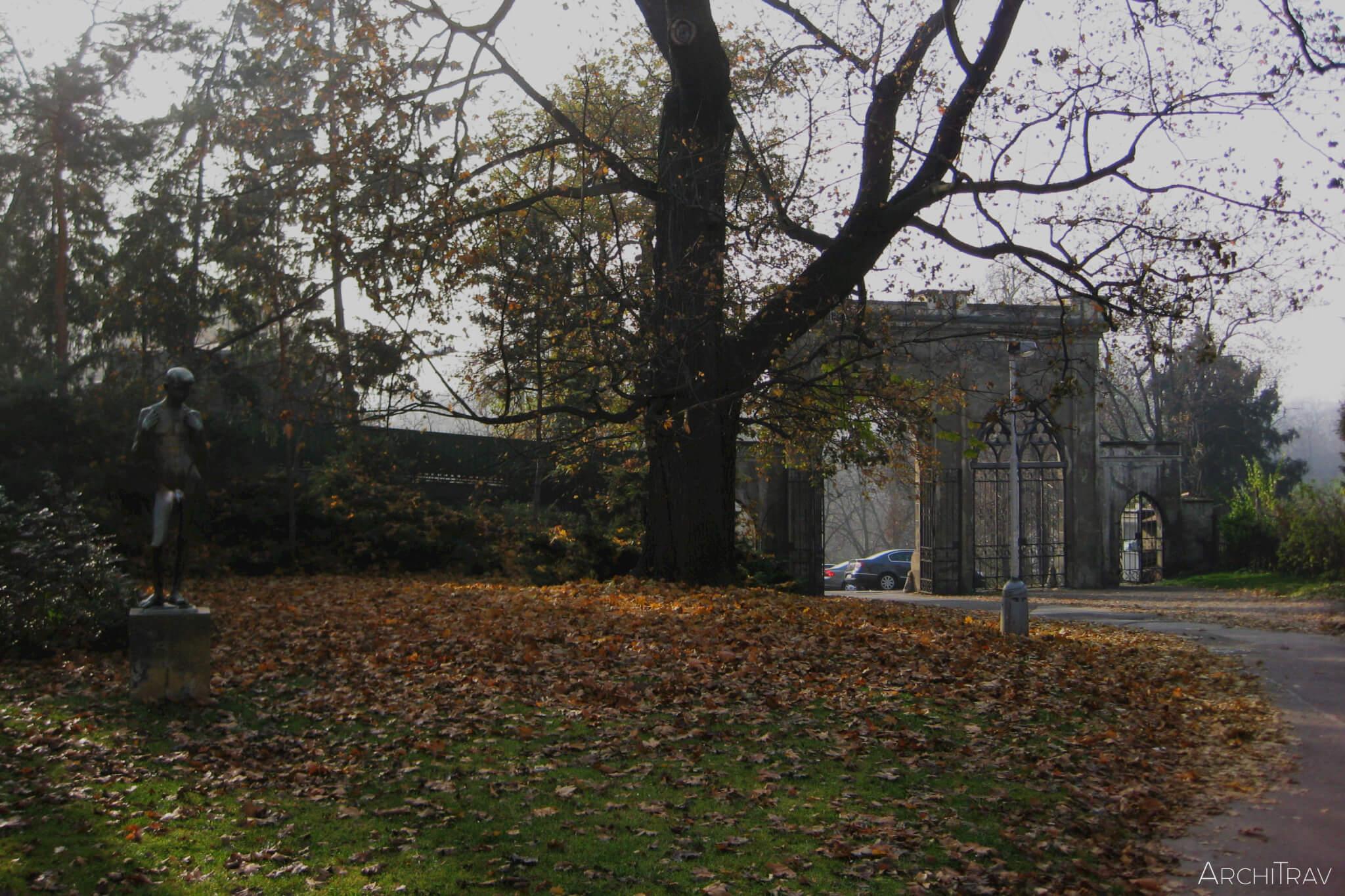 Park Stromovka jesien 2