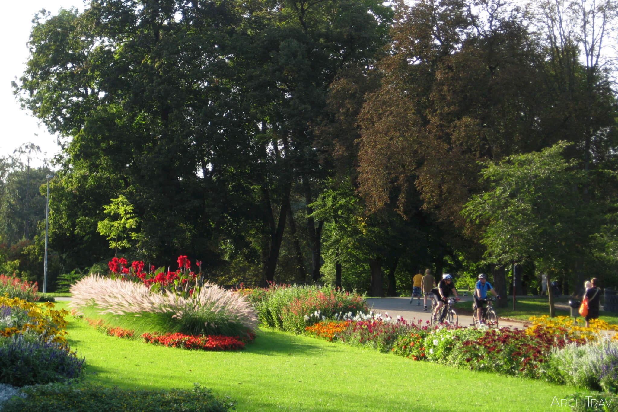 Park Stromovka lato 6