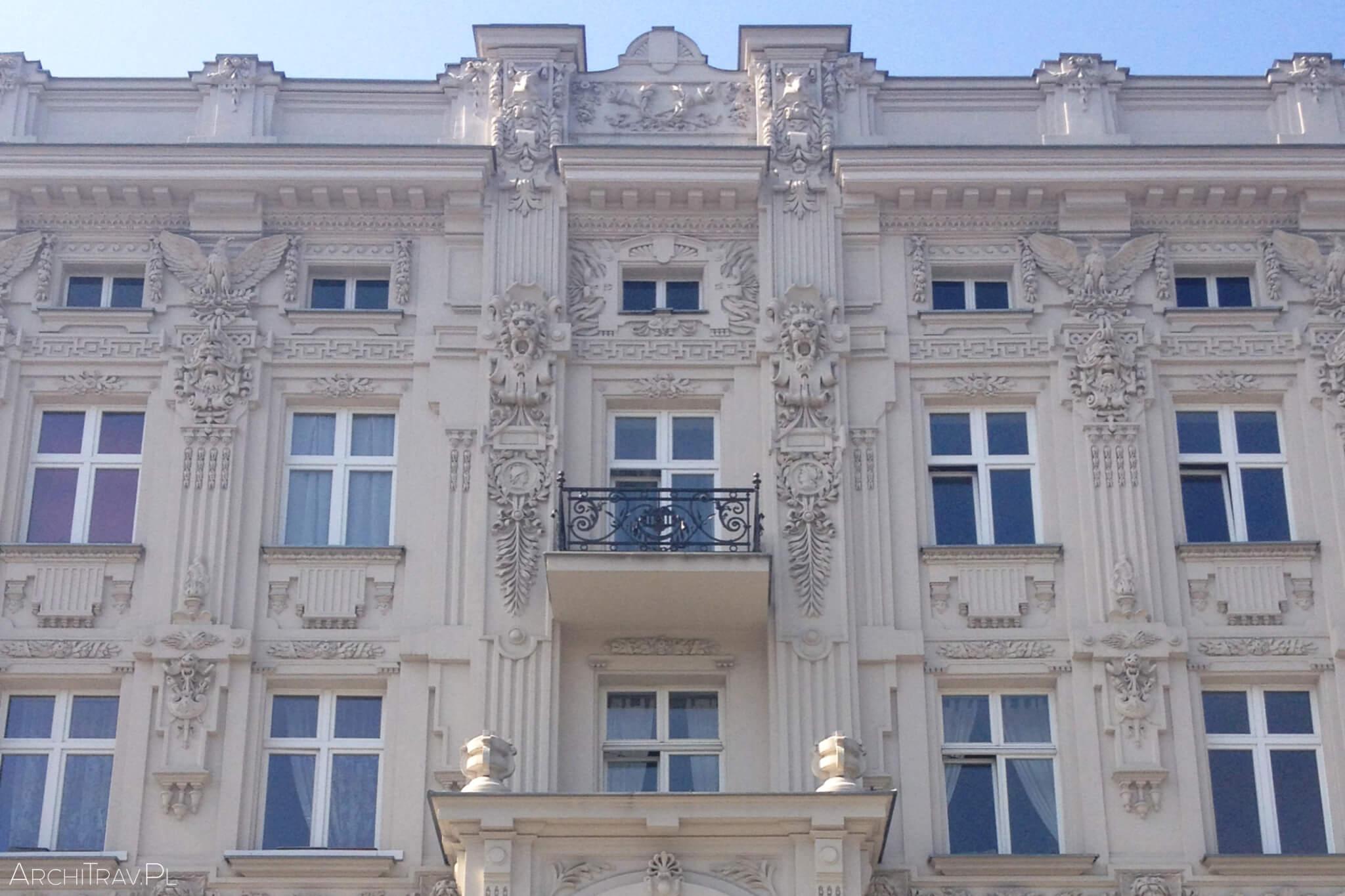 Kamienica Salomona Bahariera, Piotrkowska 107 Edward Kreuzburg