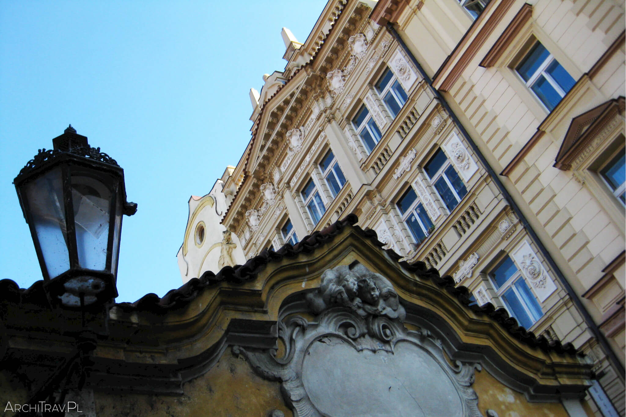 Praga piekny budynek