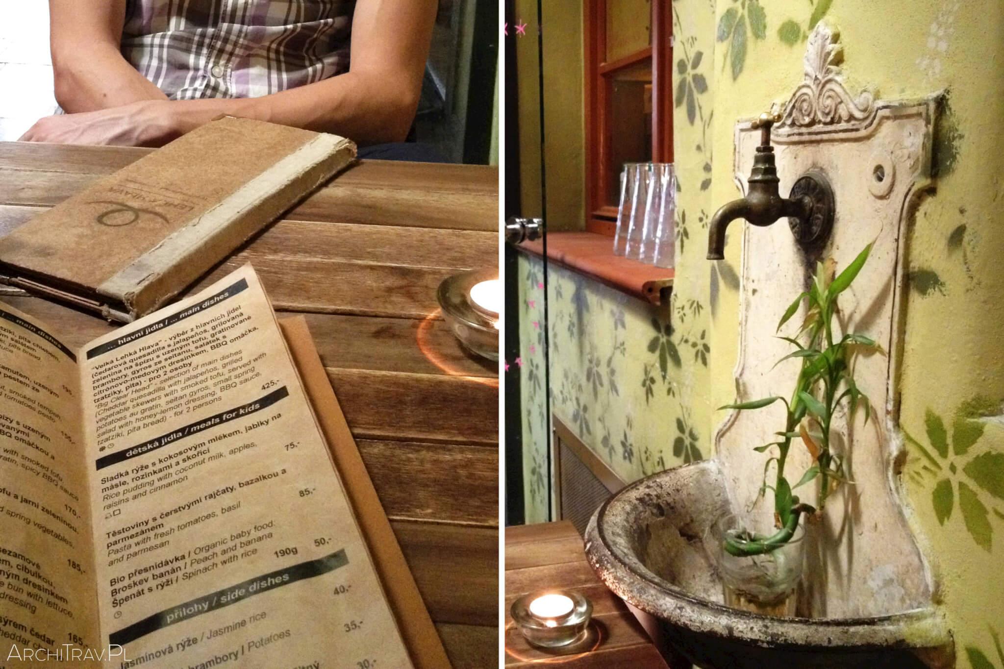 restauracja w Pradze Lehka Hlava