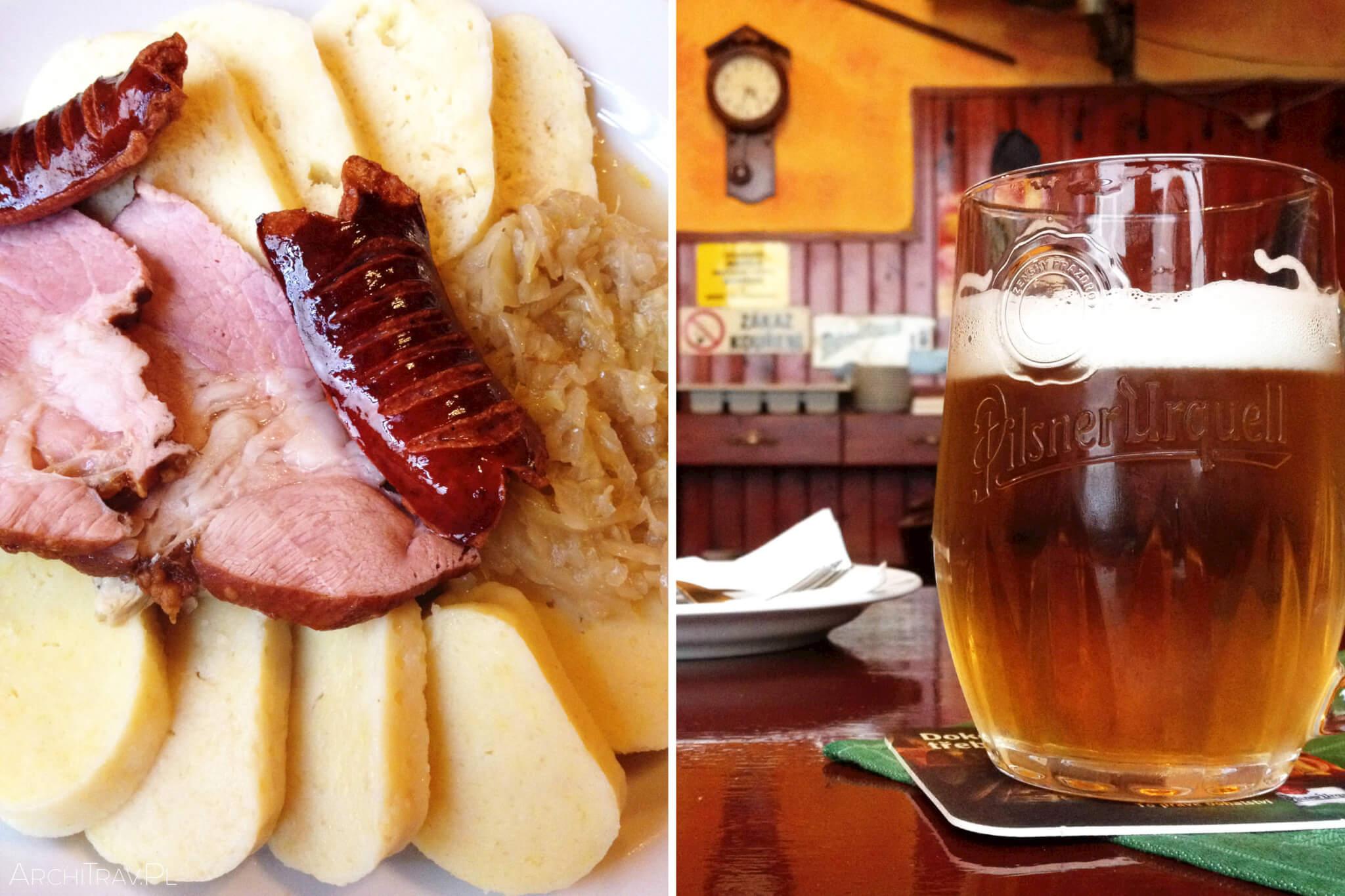 restauracja w Pradze U Houbare 2 gdzie zjeść w Pradze