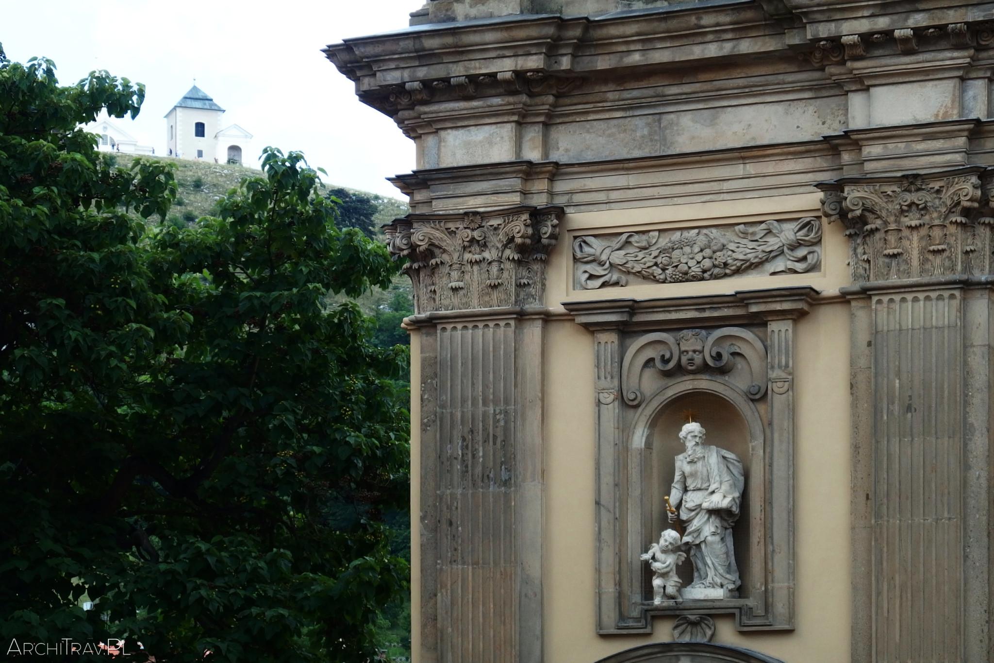 Mikulov mauzoleum i wzgorze