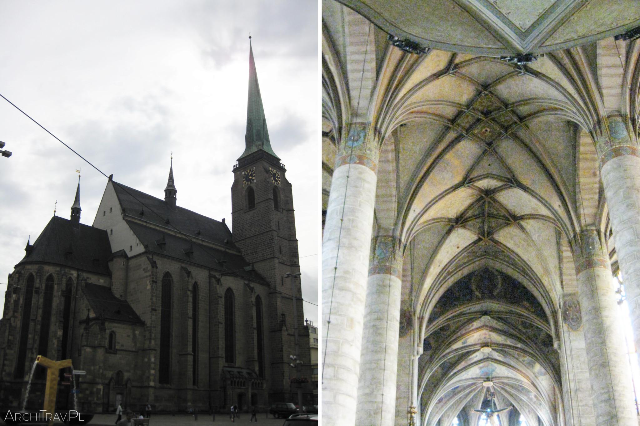 Pilzno katedra