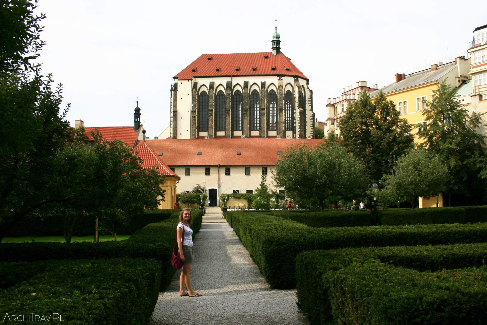 Praha Frantiskanska Zahrada