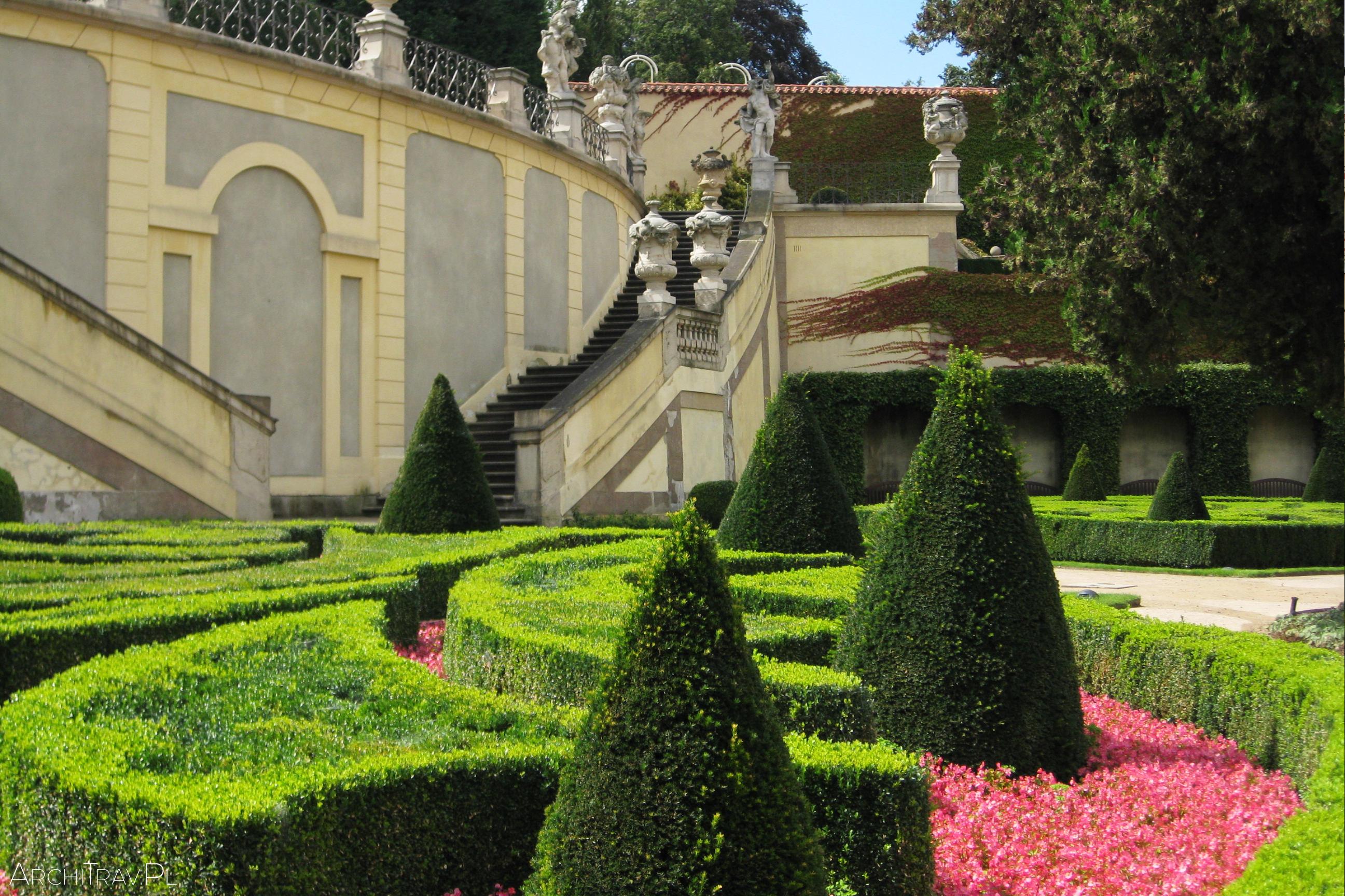 Praha Vrtbovska zahrada