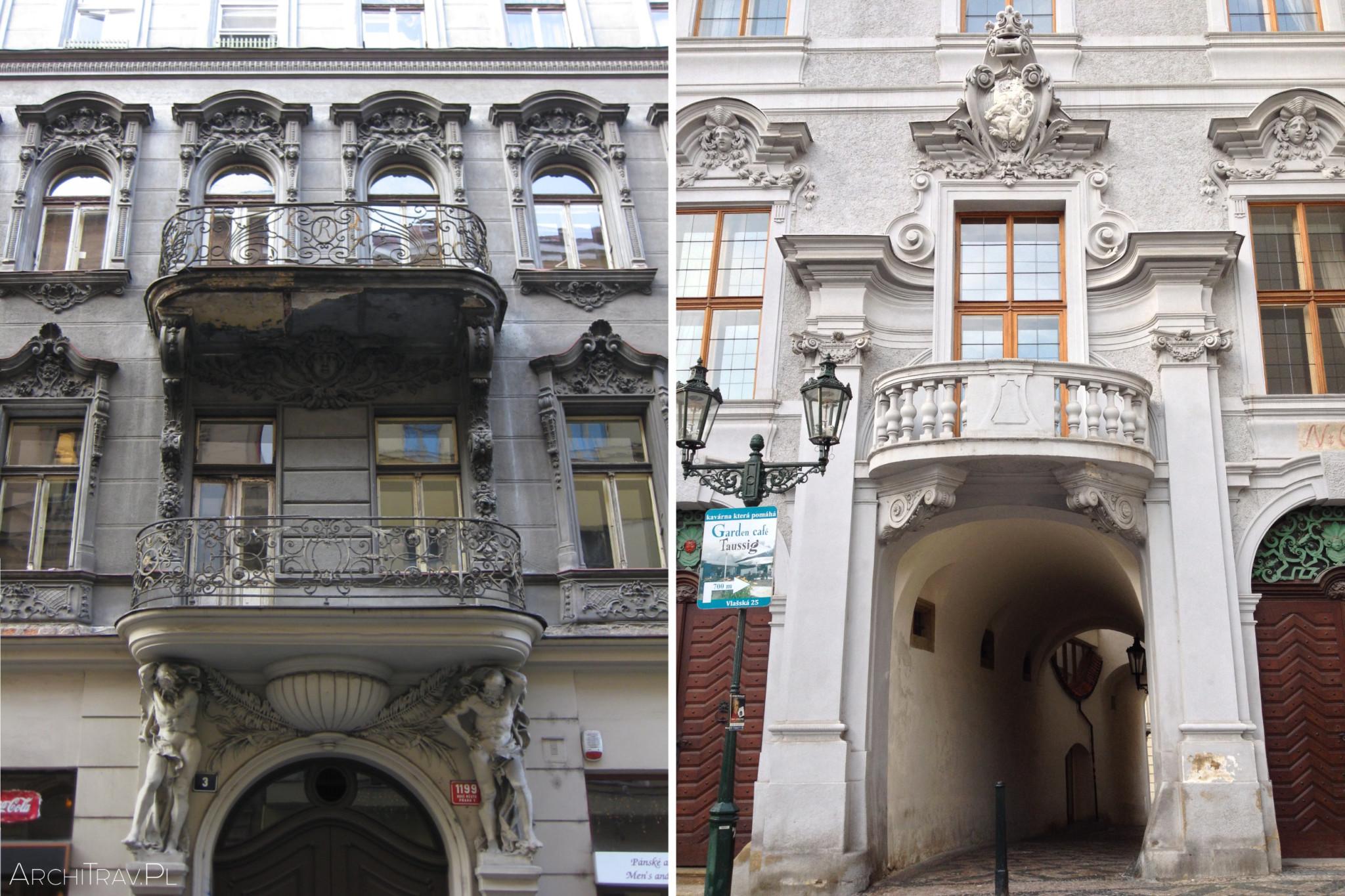 Praha kamienice 2