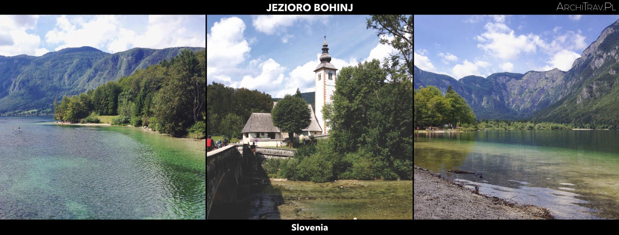 Slowenia jezioro Bohinj