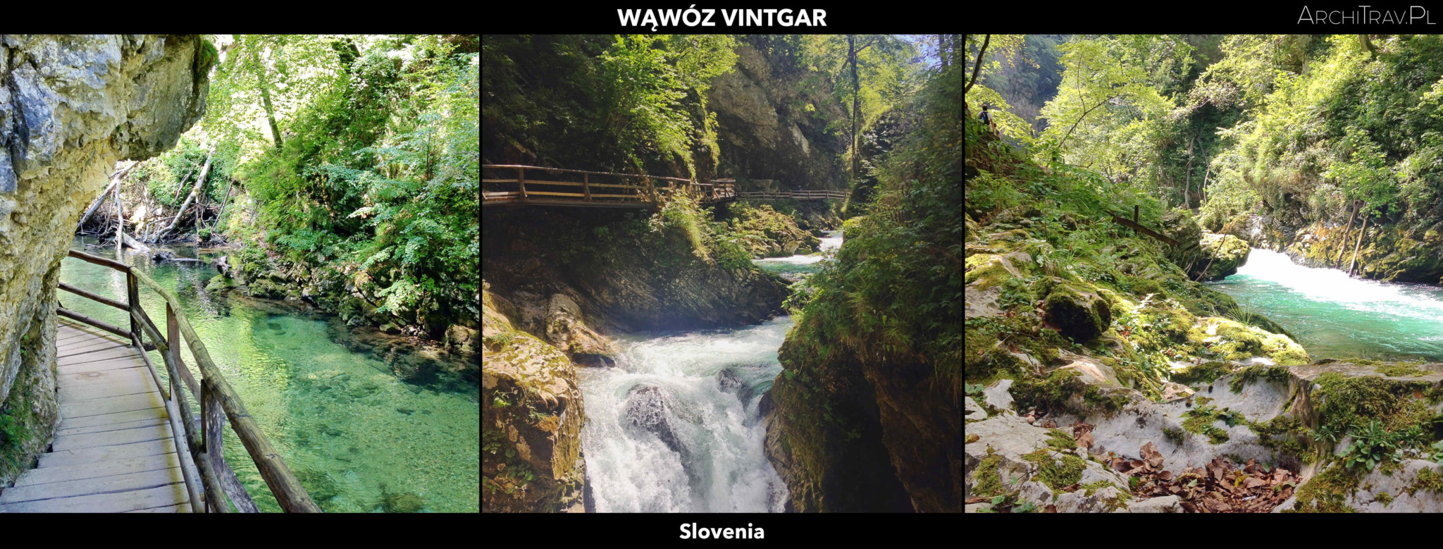 Slowenia wawoz vintgar
