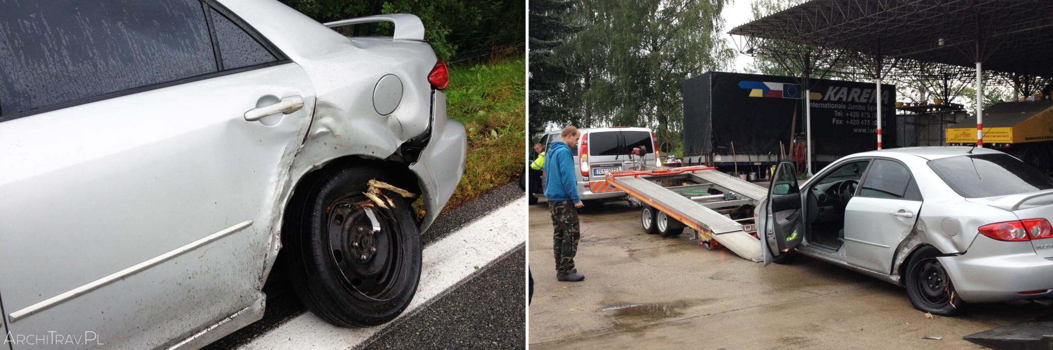 wypadek w Czechach