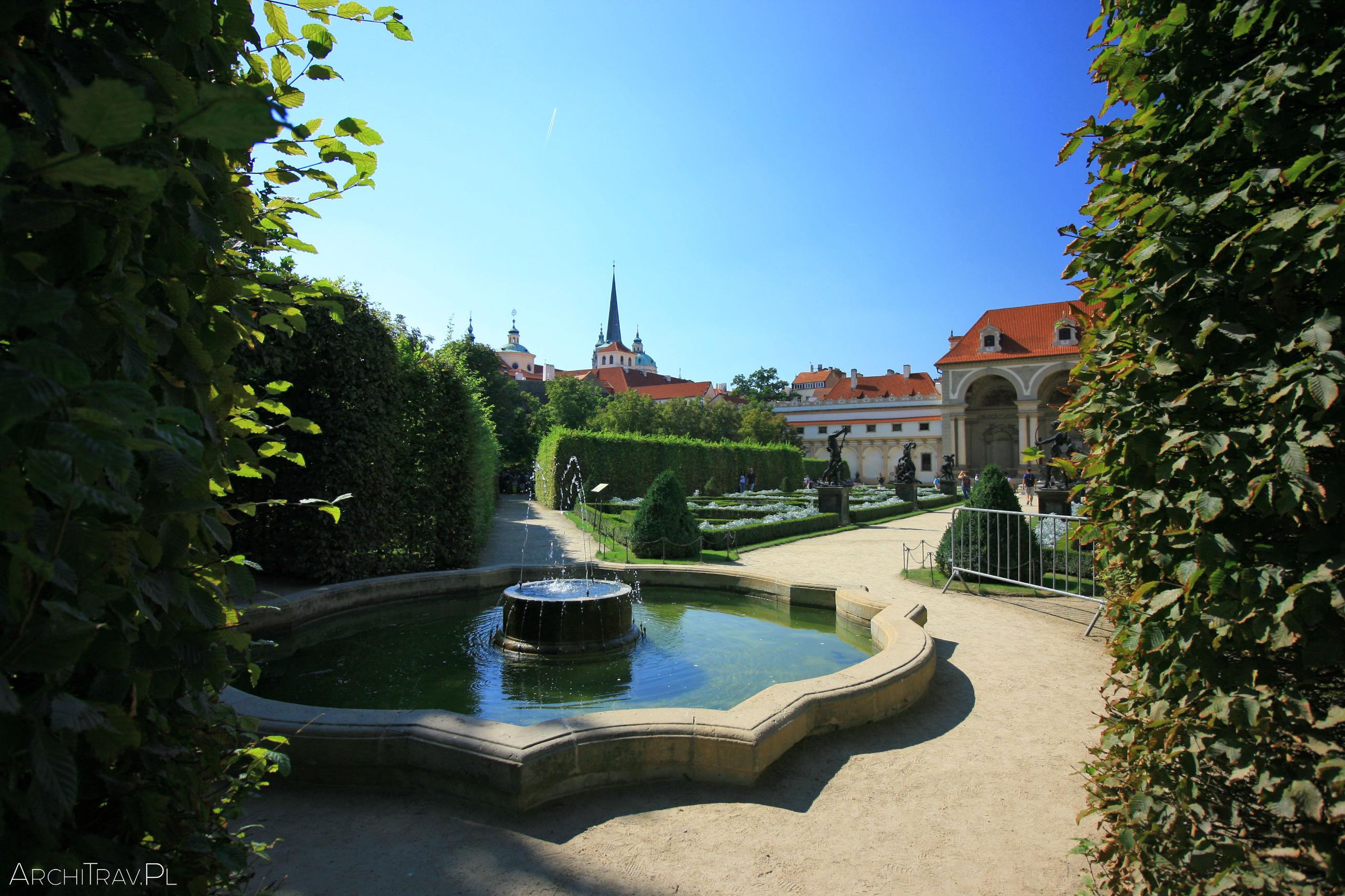 Ogrody Wallensteina w Pradze