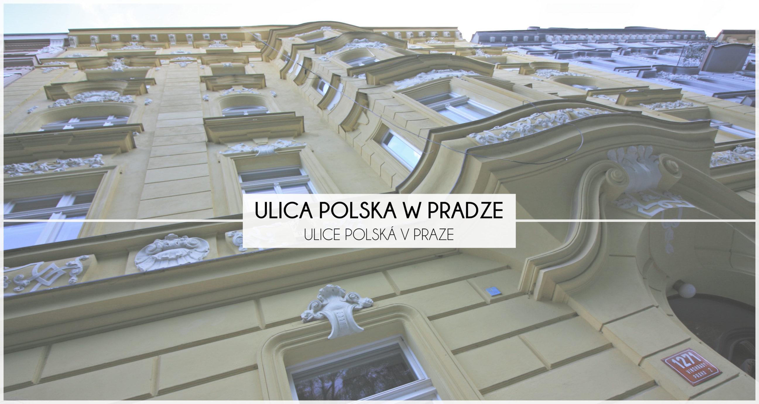 ulica polska w pradze
