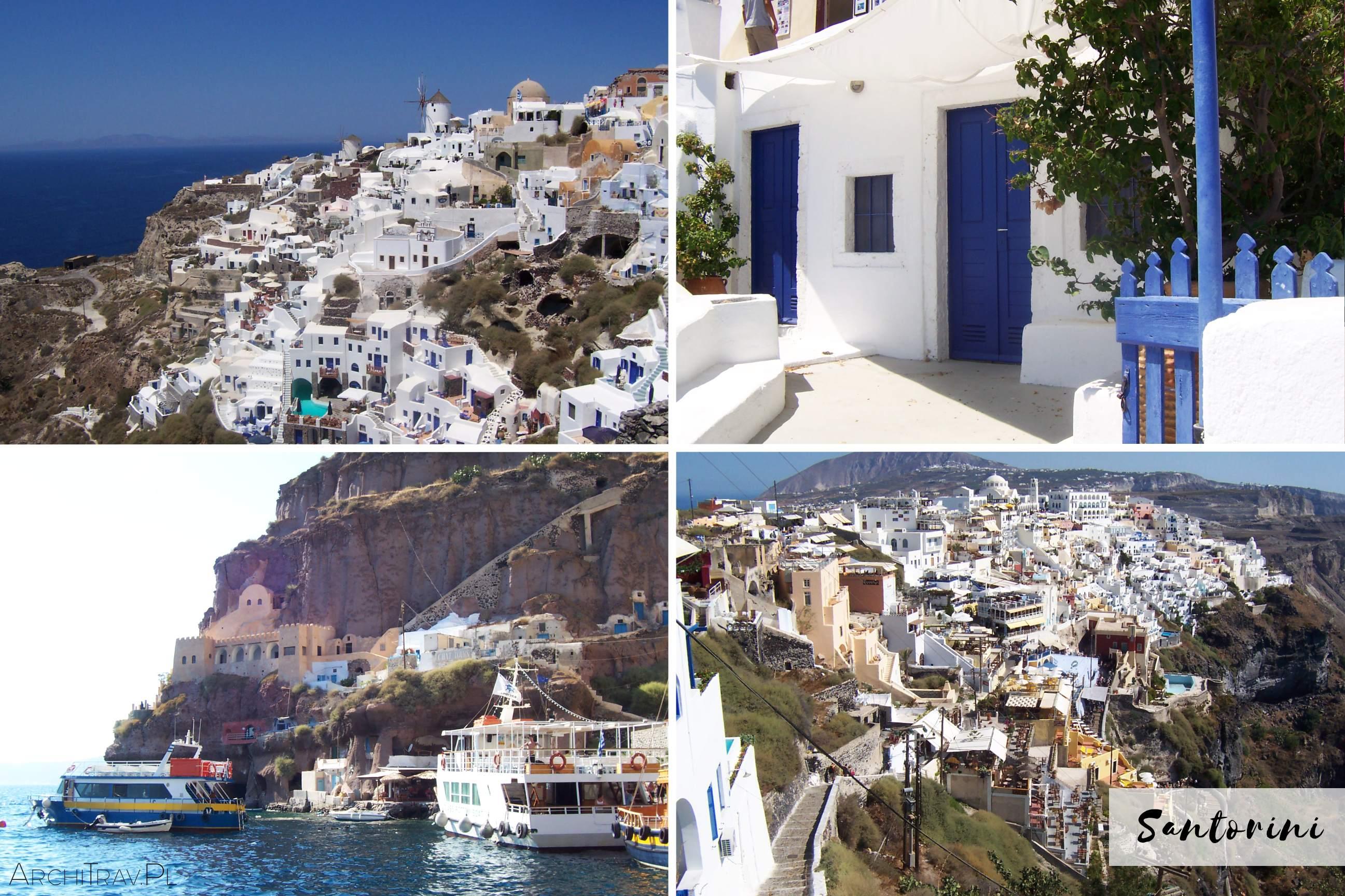 Santorini wycieczka z Krety