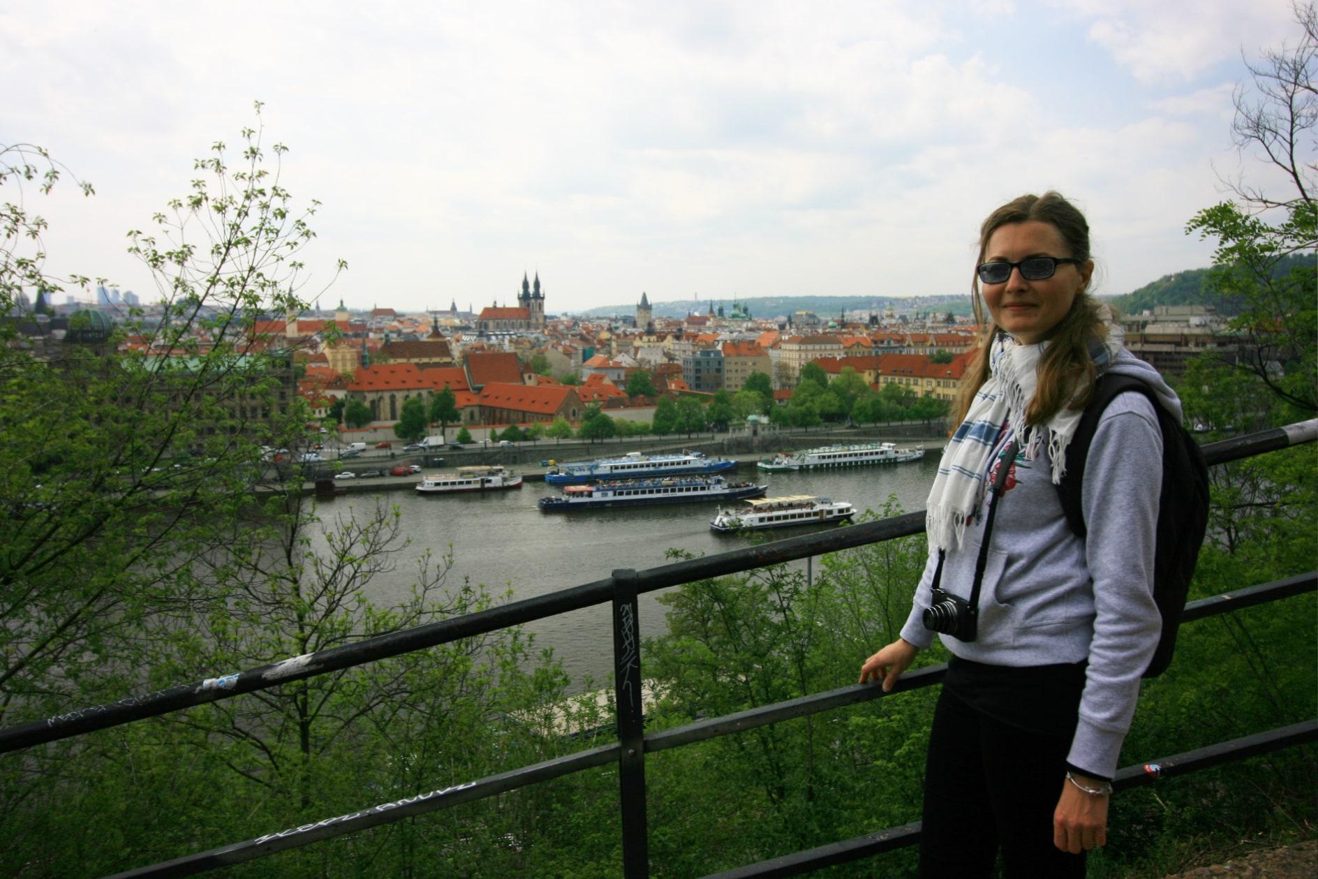Wełtawa i Praha...